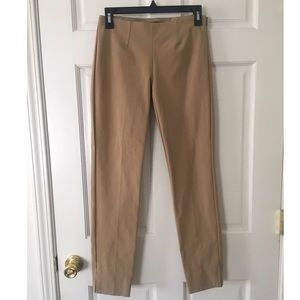 Theory Belisa Ankle Pants in khaki size 0